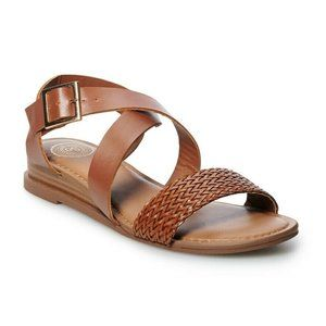 NEW SO Cider Women's Strappy Sandals size 10